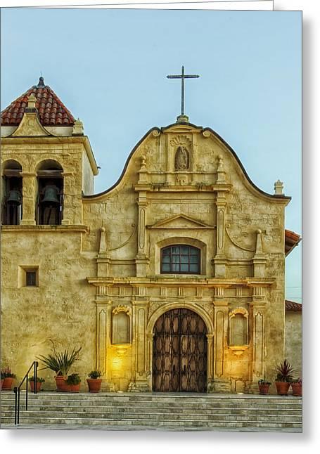 Royal Chapel Greeting Cards - Cathedral Of San Carlos Borromeo Greeting Card by Mountain Dreams