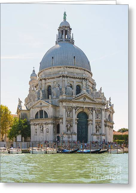 River View Greeting Cards - Cathedral Greeting Card by Svetlana Sewell