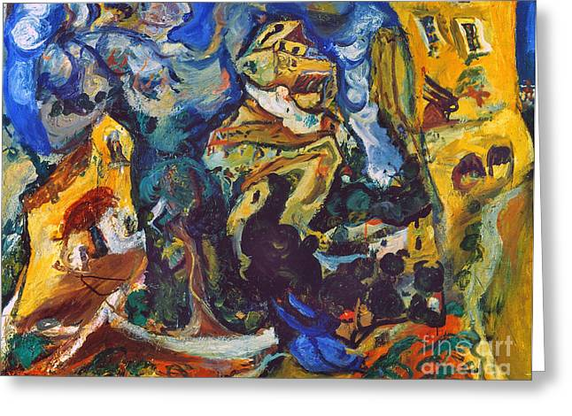Faa Photographs Greeting Cards - Chaim Soutine (1893-1943) Greeting Card by Granger