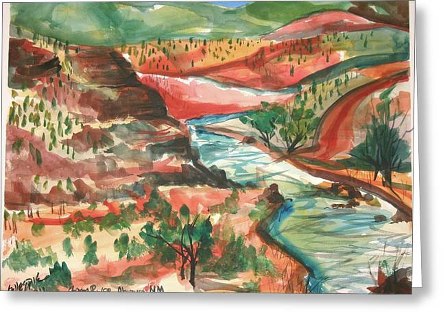 Chama River Greeting Cards - Chama River Greeting Card by Ted Gillespie