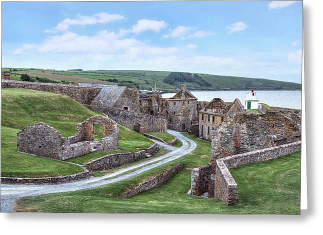 Charles Fort - Ireland Greeting Card by Joana Kruse