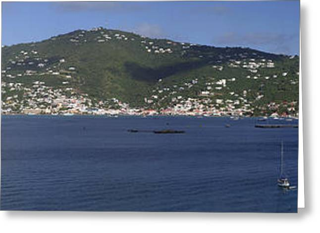 Charlotte Amalie Greeting Card by Gary Lobdell