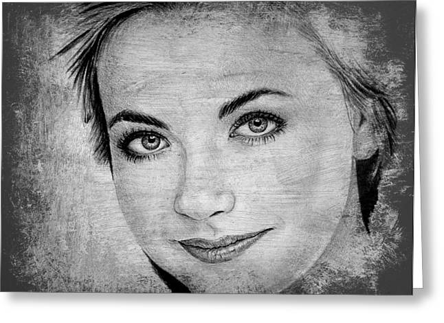 Charlotte Greeting Cards - Charlotte Church Greeting Card by Andrew Read
