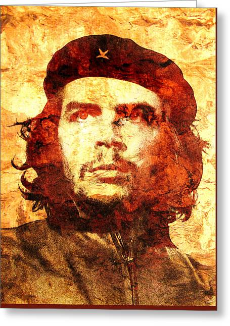Che Guevara Greeting Cards - Che Guevara Greeting Card by Jose Espinoza
