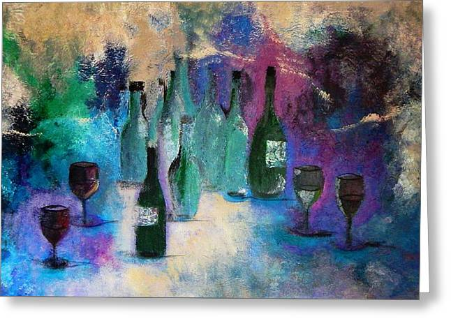 Cheers Greeting Card by Lisa Kaiser