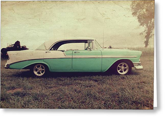 Chevy Bel Air Greeting Card by Joel Witmeyer