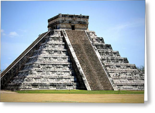 Ancient Ruins Greeting Cards - Chichen Itza Greeting Card by Chris Brannen