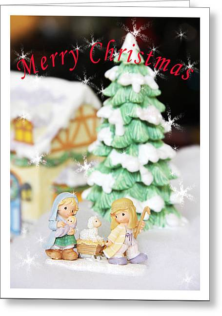 Christmas Greeting Card by Masha Batkova
