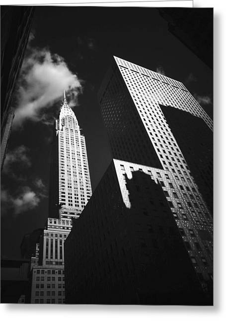 Chrysler Building - New York City Greeting Card by Vivienne Gucwa