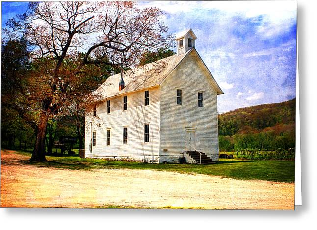 Historic Home Greeting Cards - Church at Boxley Greeting Card by Marty Koch