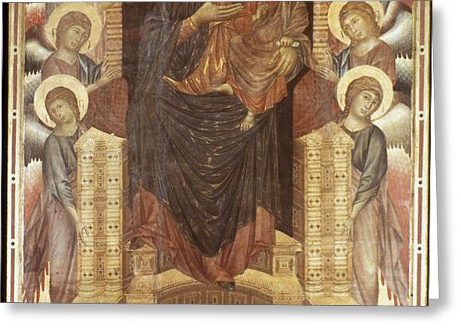 CIMABUE: MADONNA Greeting Card by Granger