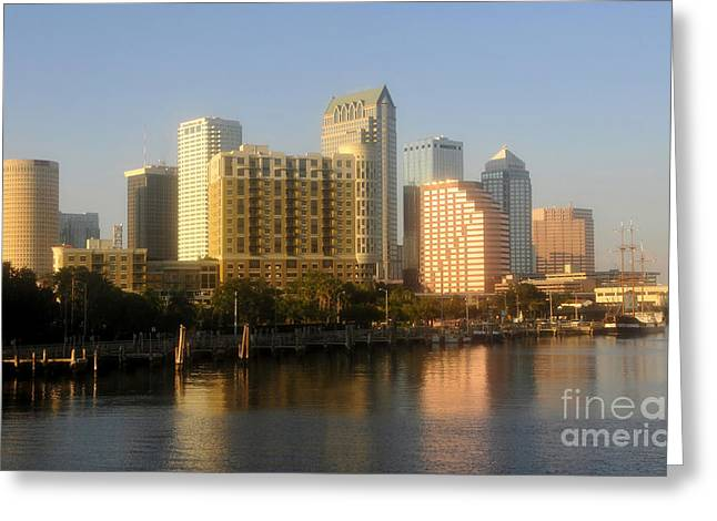 City By The Bay Greeting Card by David Lee Thompson