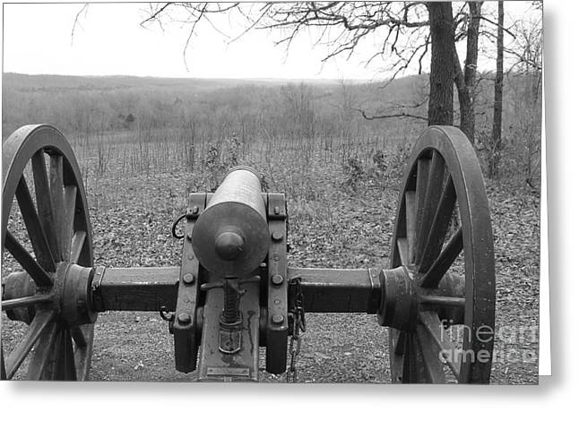 Civil Greeting Cards - Civil War Canon Greeting Card by Michael Munster