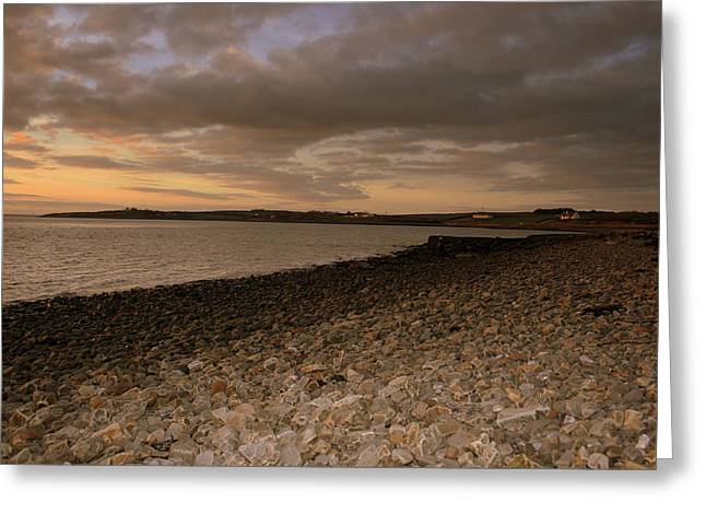 County Clare Greeting Cards - Clare coastline Greeting Card by John Quinn