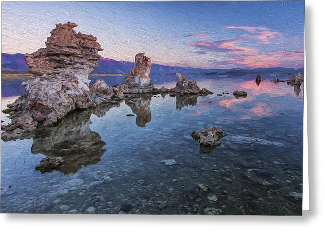 Clear And Calm II Greeting Card by Jon Glaser