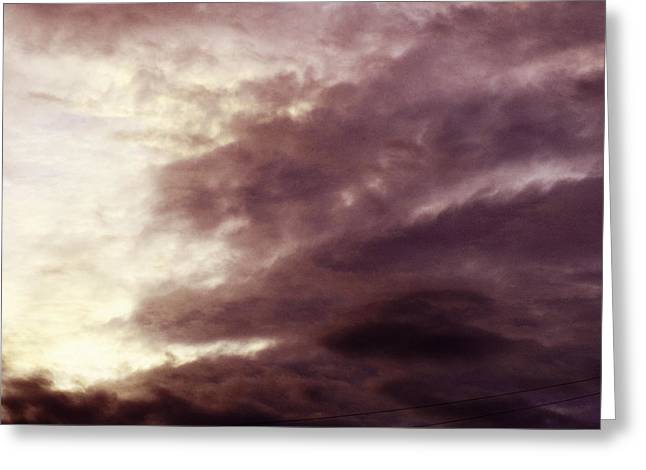 Bruster Greeting Cards - Clouds Greeting Card by Clayton Bruster