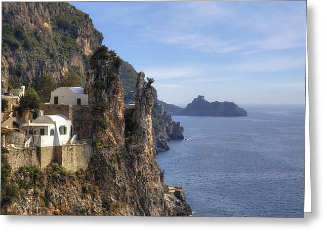 Coast Of Amalfi Greeting Card by Joana Kruse
