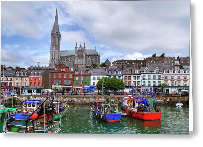 Cobh - Ireland Greeting Card by Joana Kruse