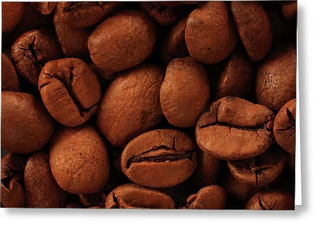 Jouko Mikkola Greeting Cards - Coffee beans Greeting Card by Jouko Mikkola