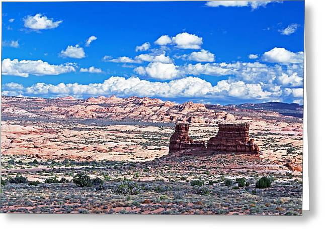 Monolith Greeting Cards - Colorado Plateau Greeting Card by Richard Risely
