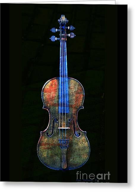 Colorful Overture Greeting Card by John Stephens