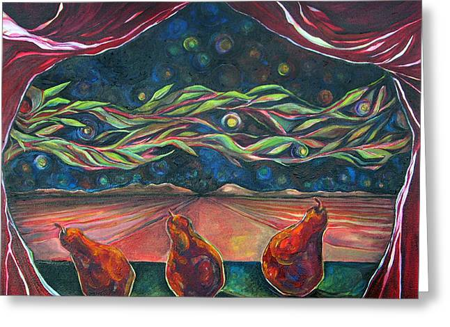 Consequences Greeting Cards - Consequence Beyond the Horizon Greeting Card by Julie Davis