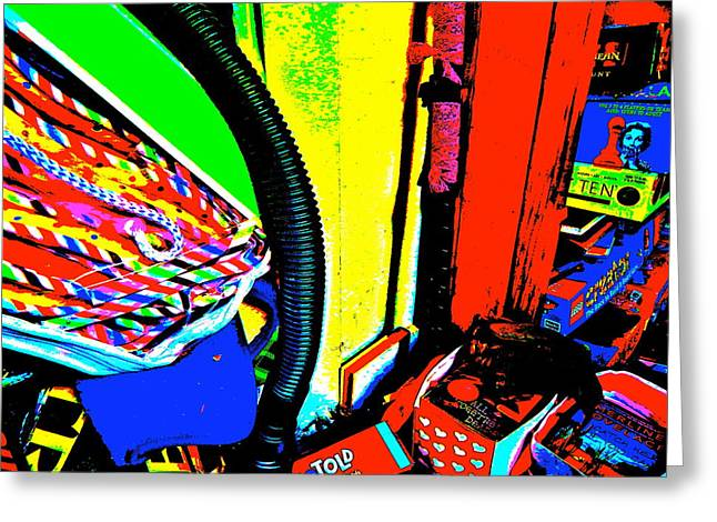 Miscellany Greeting Cards - Cool Clutter 49 Greeting Card by George Ramos