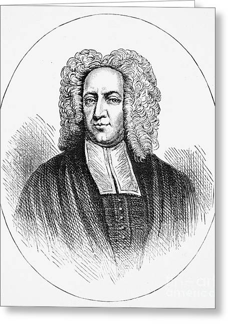 Puritan Greeting Cards - Cotton Mather (1663-1728) Greeting Card by Granger