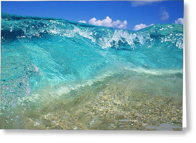 Crystal Clear Greeting Card by Vince Cavataio - Printscapes