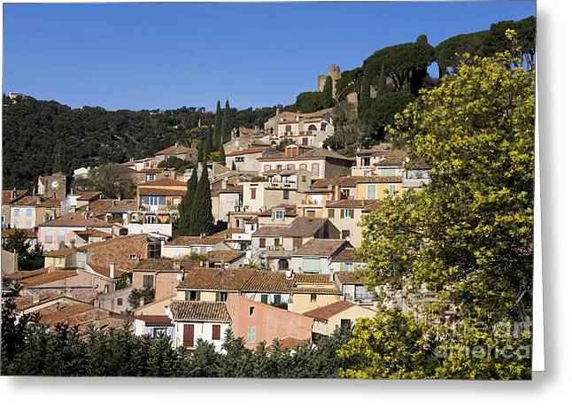 Provence Village Greeting Cards - Côte Dazur, France Greeting Card by Jean-Louis Klein & Marie-Luce Hubert