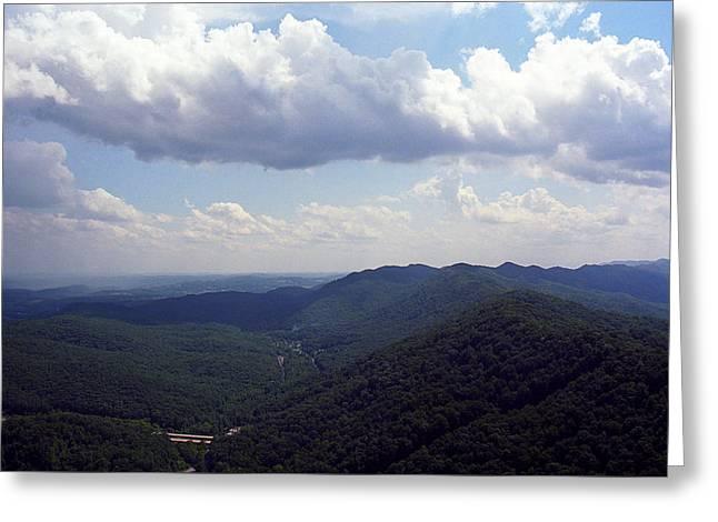 Usa Photographs Greeting Cards - Cumberland Gap Kentucky Greeting Card by Frank Romeo