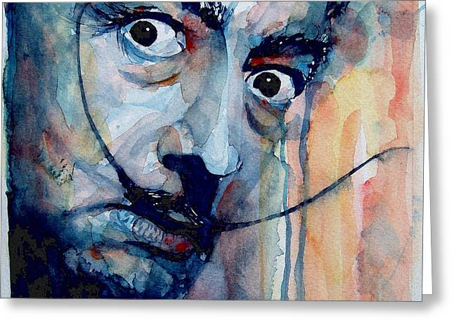 Dali Greeting Card by Paul Lovering