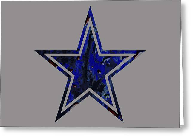 49ers Paintings Greeting Cards - Dallas Cowboys Greeting Card by Brian Reaves