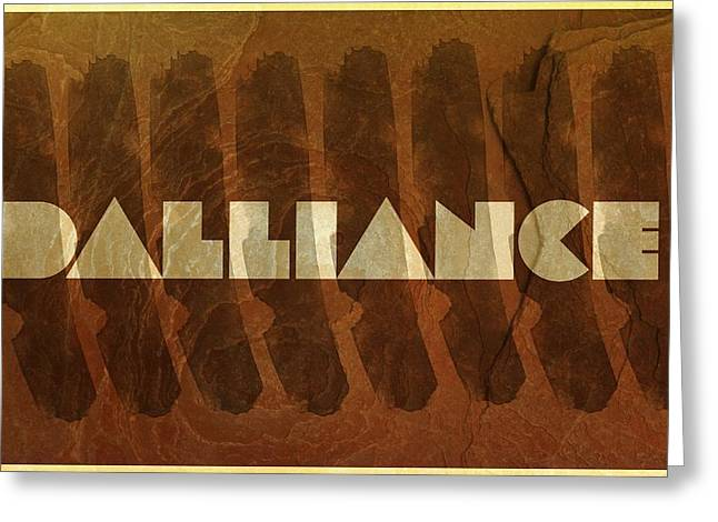 Dalliance Greeting Cards - Dalliance Greeting Card by Andrea Barbieri
