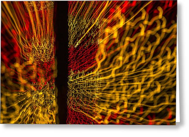 Observer Greeting Cards - Dancing Lights 5  Greeting Card by Penny Lisowski