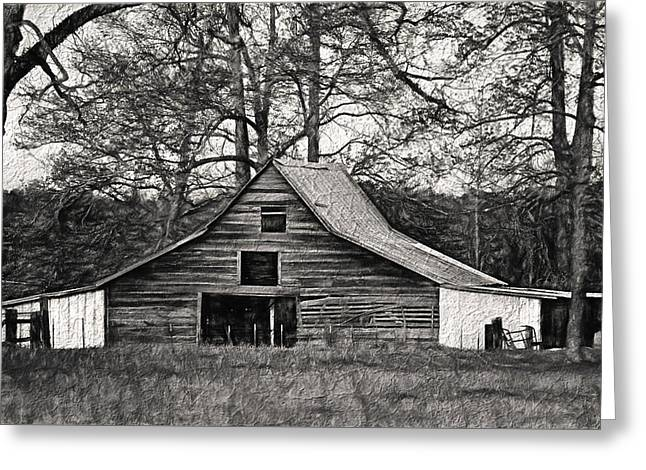 Classic Barn Greeting Cards - Days Gone By Greeting Card by Kim Hojnacki