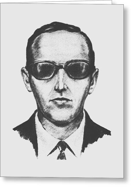 D.b. Cooper Greeting Card by War Is Hell Store