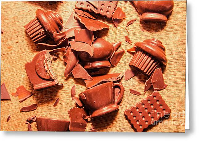 Death By Chocolate Greeting Card by Jorgo Photography - Wall Art Gallery