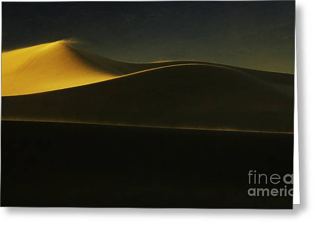 Death Valley California Symphony Of Light 2 Greeting Card by Bob Christopher