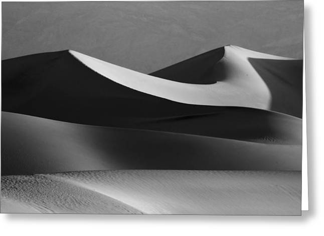 Death Valley Greeting Cards - Death Valley Dunes  Greeting Card by Matt  Trimble