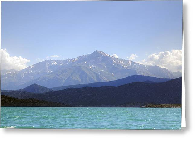Dedegol Mountain - Turkey Greeting Card by Joana Kruse