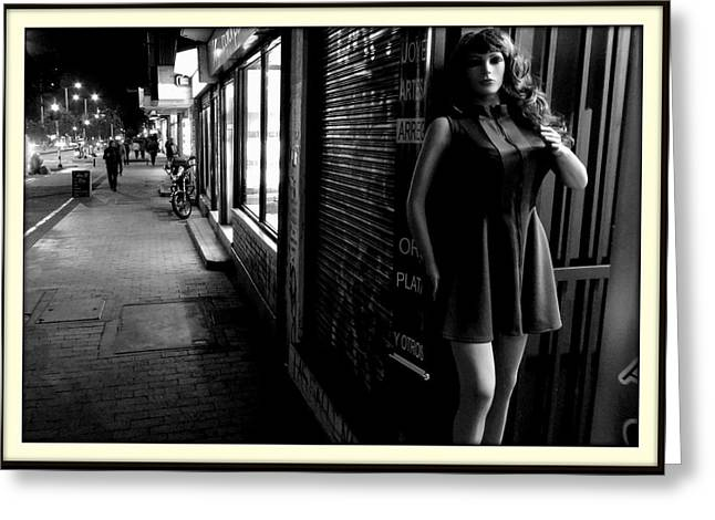 Dressmakers Model Greeting Cards - Street Mannequin # 3 Greeting Card by Daniel Gomez
