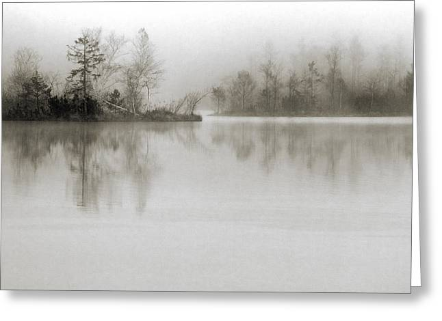 Fog Greeting Cards - Dissolution Greeting Card by Henrik Spranz