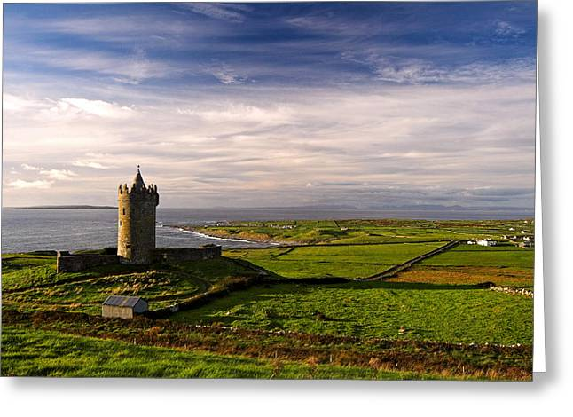 Doonagore Castle Co.clare Ireland Greeting Card by Pierre Leclerc Photography