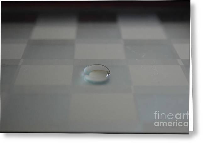 Dot Of Clarity Greeting Card by Eva Maria Nova