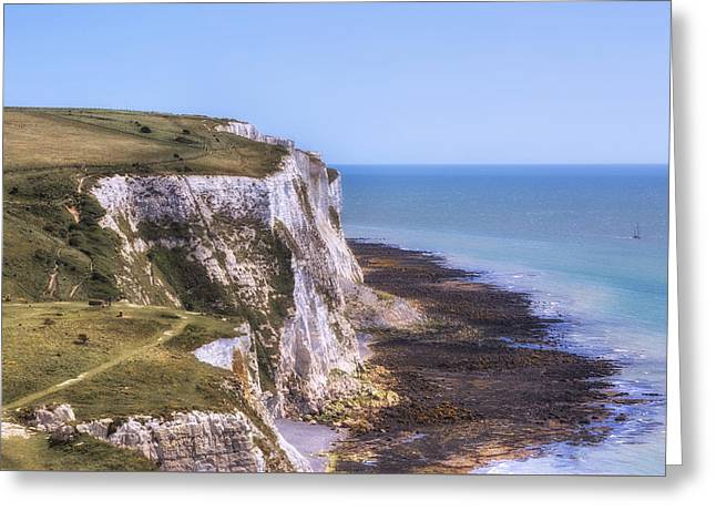 Weiss Greeting Cards - Dover - England Greeting Card by Joana Kruse