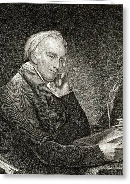 Dr Benjamin Rush 1745 To 1813 American Greeting Card by Vintage Design Pics