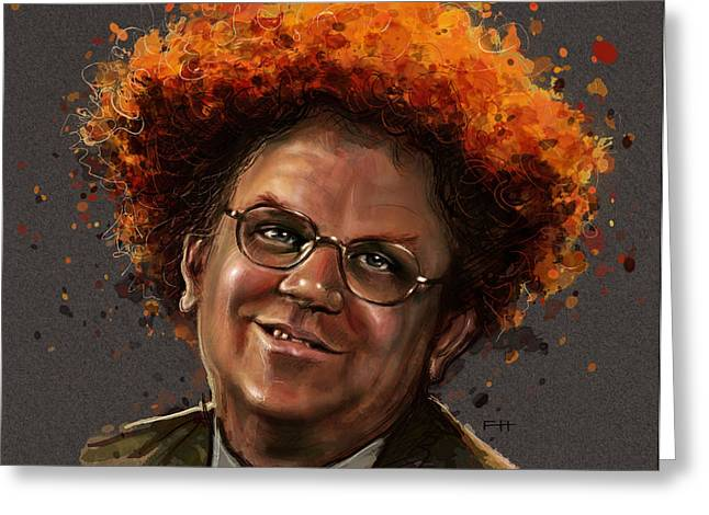 Dr. Steve Brule  Greeting Card by Fay Helfer