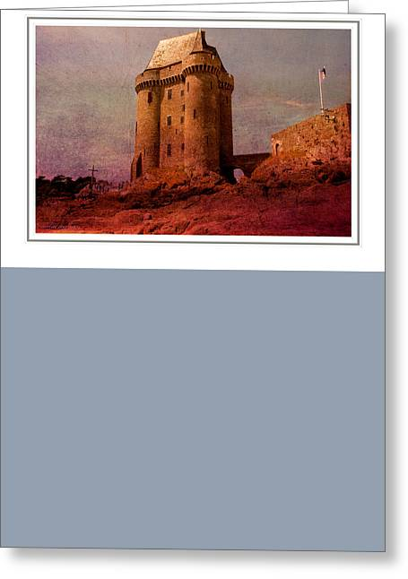 Dreamy Solidor Greeting Card by Karo Evans