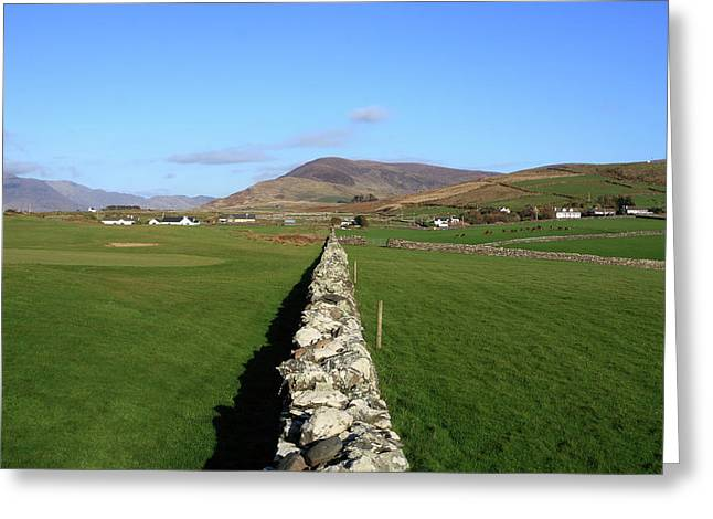 Dry Stone Wall. Greeting Cards - Dry Stone Wall Greeting Card by Aidan Moran